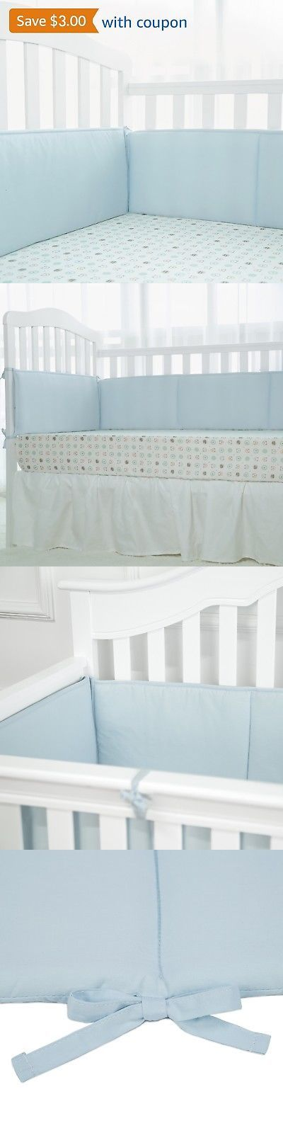 Bumpers 20417: Christmas Holiday Gift-Tillyou Breathable Crib Bumper Pad Padded Crib Liner F... -> BUY IT NOW ONLY: $34.79 on eBay!