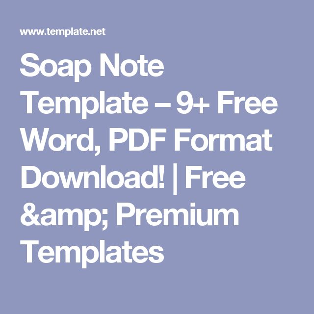 Best Progress Notes Images On   Notes Template Role