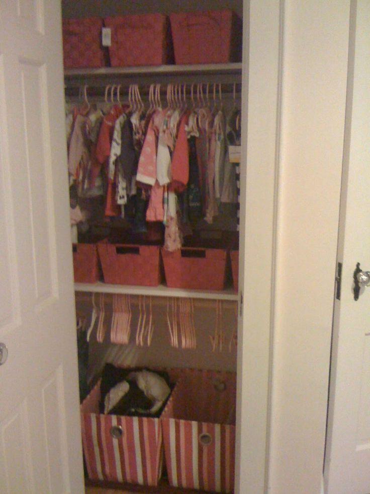 Top 25 Ideas About Nursery Closet Organization On
