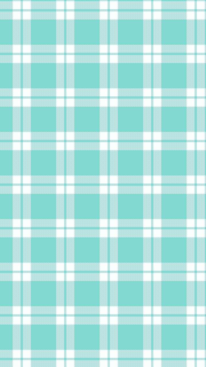 plaid teal mobile phone wallpaper - photo #2