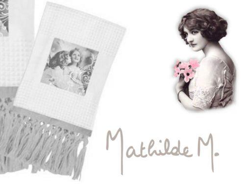 Mathilde-M-Serviette-de-toilette-Angeliques-coton-nid-dabeille-50x80cm