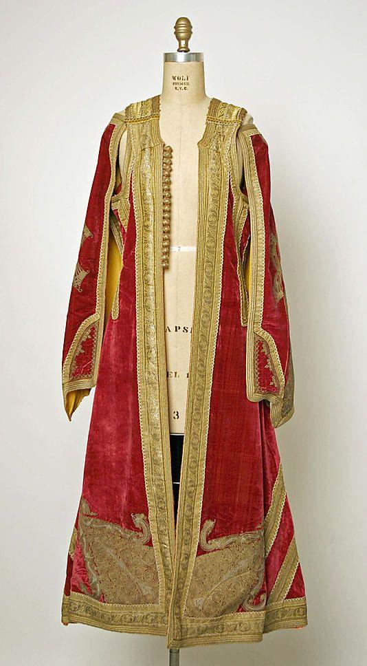 Wedding ensemble       19th century–early 20th century      Macedonian  Greece       silk, wool