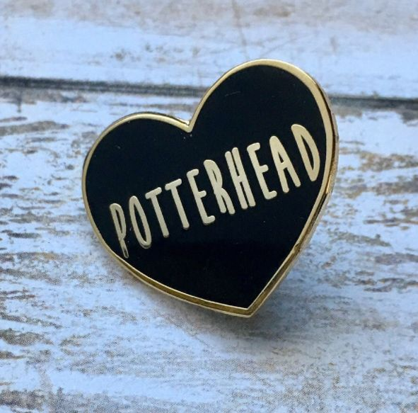 """This Potterhead pin: 