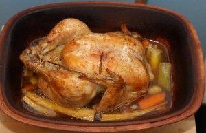 Kylling stegt i juleøl i stegeso   grydeklar.dk