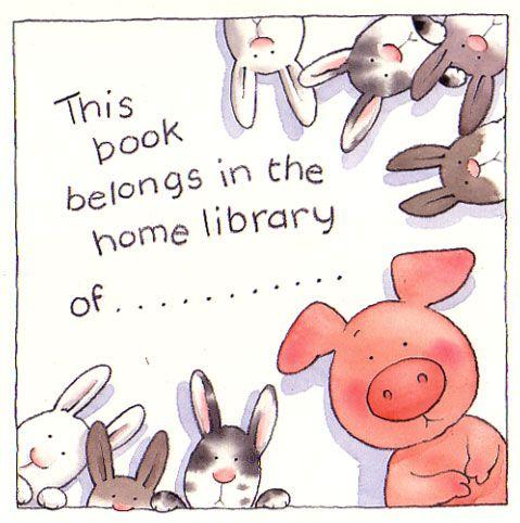 Mi Biblioteca: sellos personales.
