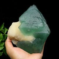 5.09LB New find Natural rare green fluorite & crystal mineral specimens/China
