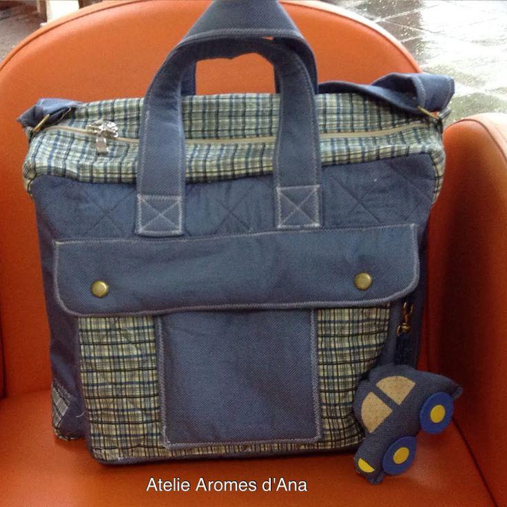 Como fazer um kit de bolsa maternidade (bolsa 3)