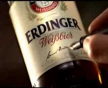 Erdinger Weisbier  Adv - Some years ago
