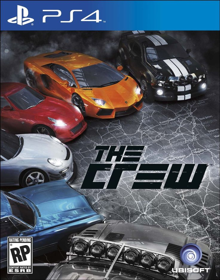 the crew playstation 4 video games on playstation 4 ps4 gaming - Ps4 Video Games