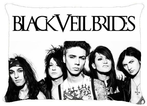 Black Veil Brides Bvb Andy Andrew Biersack Pillow Case