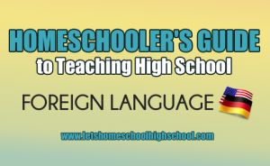 Students are under no obligation to take the language credits at a particular time. However, it is typically best to take at least two consecutive years of a language. Here is a great list to see what you could take.