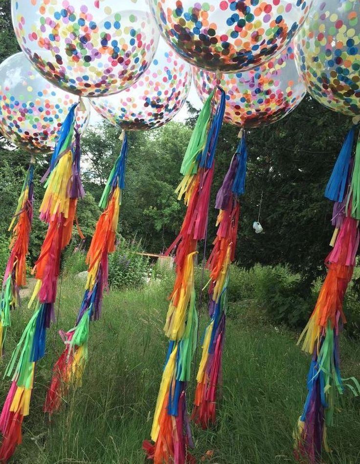 Balloon Styling With Bubblegum Balloons Girl Gets Wed Decorationn Festival Garden Party Coachella Party Ideas Coachella Theme Party