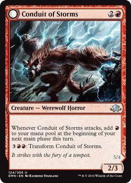 Magic: the Gathering - Conduit of Storms // Conduit of Emrakul (124/205) - Eldritch Moon