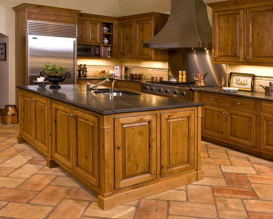 French Country Kitchen Tile Flooring kitchen tile floor design, pictures, remodel, decor and ideas - page