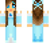 Ice Princess Minecraft Skin