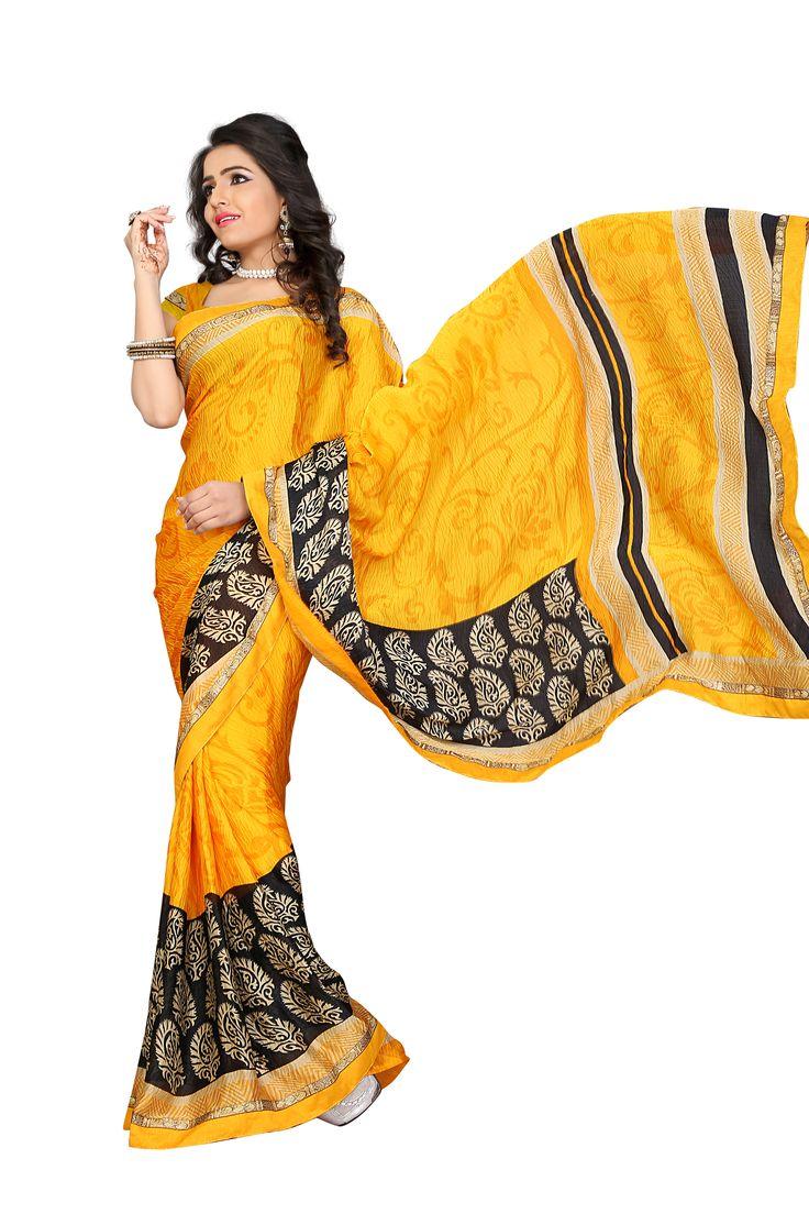 D No 20526 SATTIN CHIFFON Fancy Designer Saree - http://member.bulkmart.in/product/d-no-20526-sattin-chiffon-fancy-designer-saree/