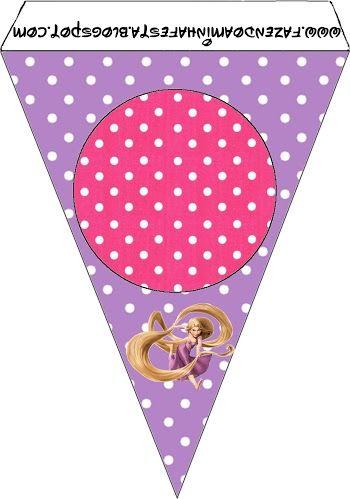 Enredados (Rapunzel): imprimibles gratis.