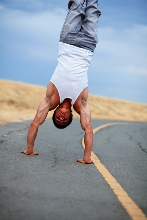 Ring Fraternity Handstand