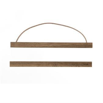 Ferm Living Wooden Frame - mörk ek liten - Ferm Living