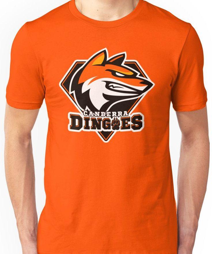 Canberra Dingoes Ice Hockey Team Unisex T-Shirt