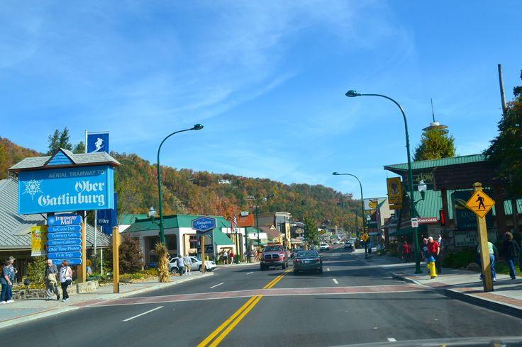 The Gatlinburg Strip Is A Great Place To Walk And Enjoy