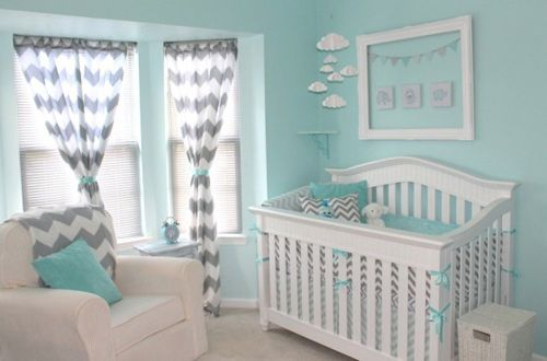 blue and gray chevron baby bedding - Google Search. Kinda loving chevron right now.... That might change by the time I actually have a baby tho :)