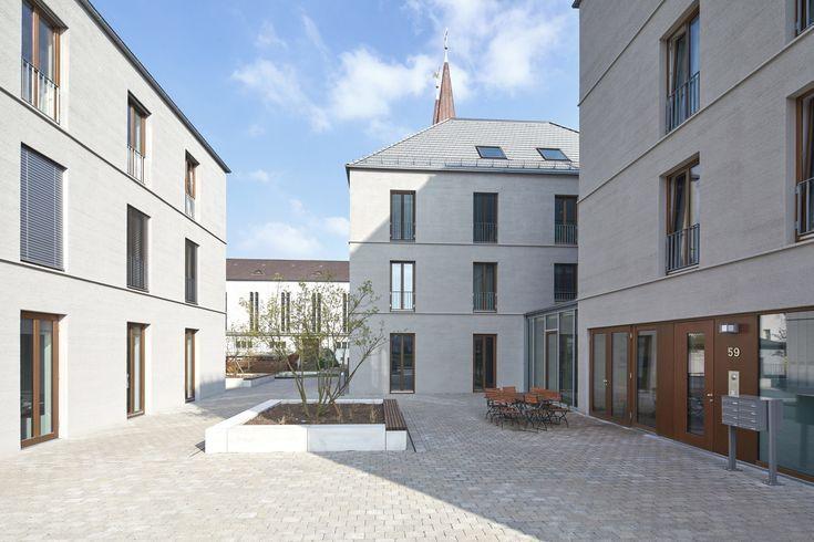 Respekt vor dem Umfeld – Wohn- und Geschäftshäuser in Bielefeld von Wannenmach…