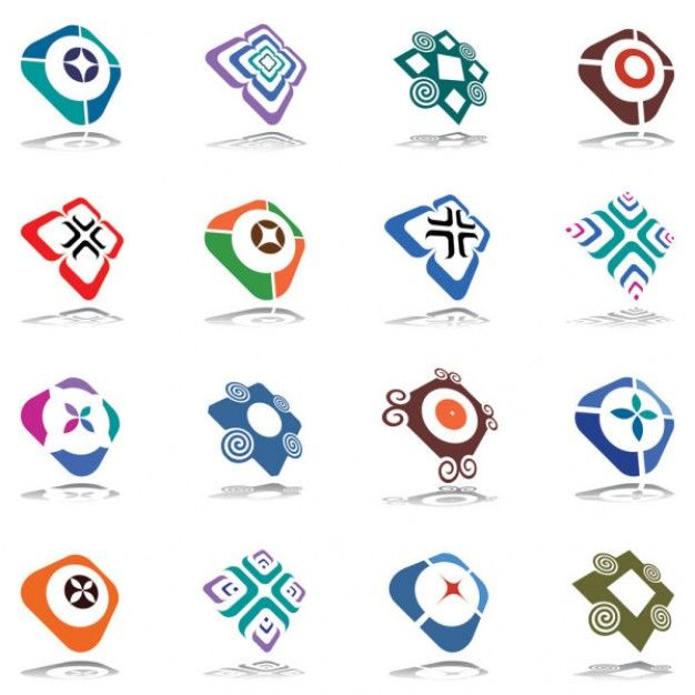 logo designs should be attractive and eye catching means attract more and more visitors logo maker pinterest logos vector vector and logo design - Logo Design Ideas Free