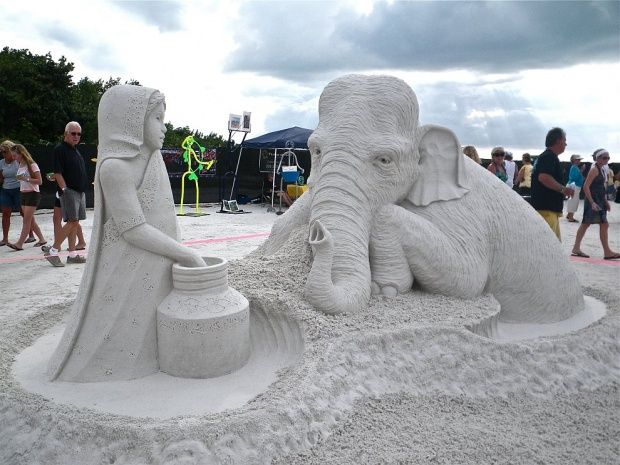 Mind-Blowing Sand Sculptures