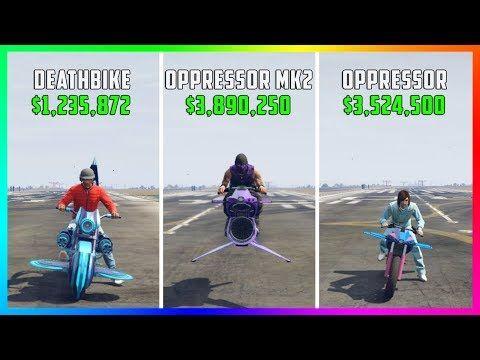 cool GTA 5 Online - Deathbike Vs Oppressor Mk2 Vs Oppressor