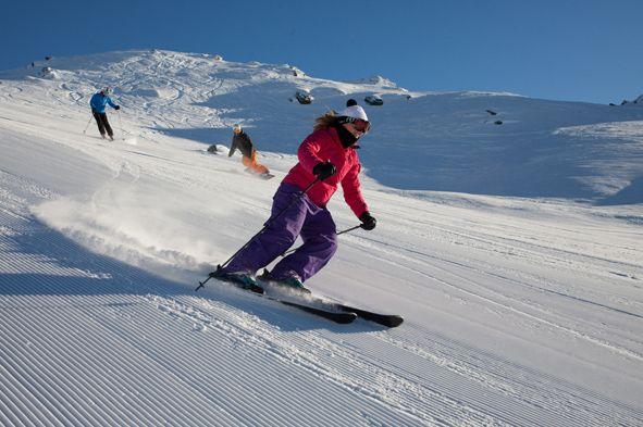 Take in the wonderful views while skiing in Cardrona, NZ http://www.infinityholidays.com.au/hot-domestic-deals