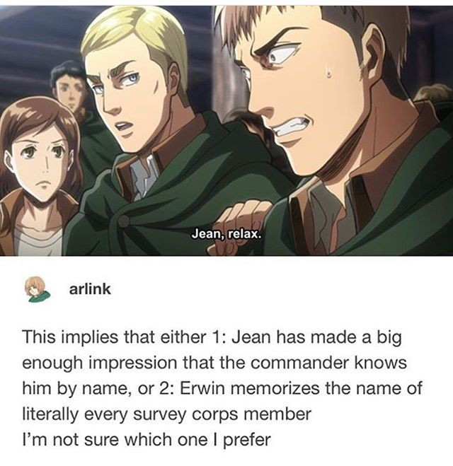 I prefer it to say that Erwin remembers the names of every horse