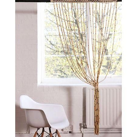 Les 15 meilleures id es de la cat gorie rideaux de bambou for Rideau exterieur porte fenetre