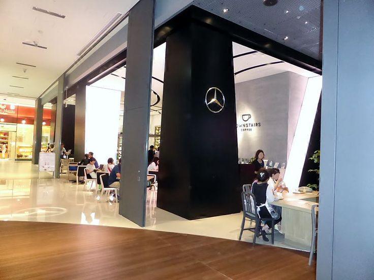 Файл: вниз по лестнице кофе в Mercedes-Benz подключения Osaka.JPG