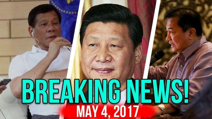 nice BREAKING NEWS TODAY! MAY 4, 2017 XI JINPING TUMAWAG DUTERTE | IMPEACHMENT CASE | PALASYO NAGLUKSA