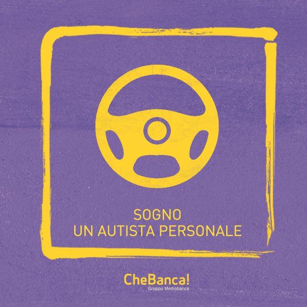 L'autista personale #sogno