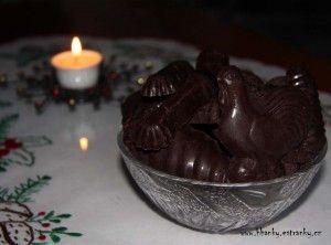 Vánoční čokoláda