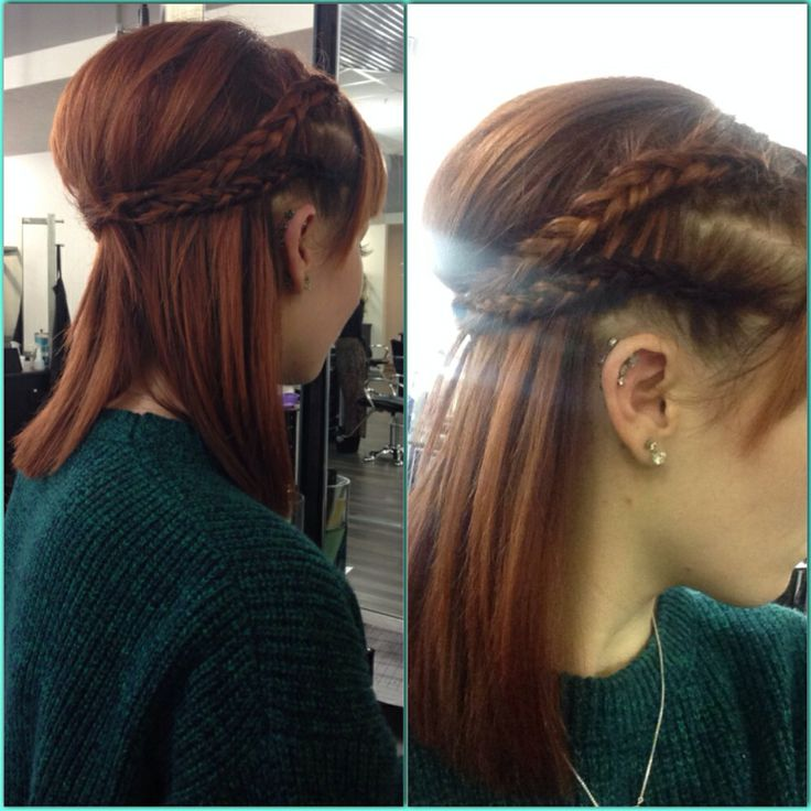 The style I did on myself this morning(: #cosmetology #student  #oliverfinley