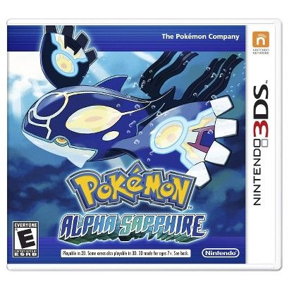 Pokémon: Alpha Sapphire - Comes out 11/21/14....honestly, I would love to have this.