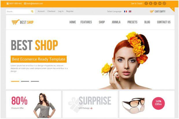 10 Visually Inspiring & Responsive WordPress eCommerce Themes | Website Templates Blog