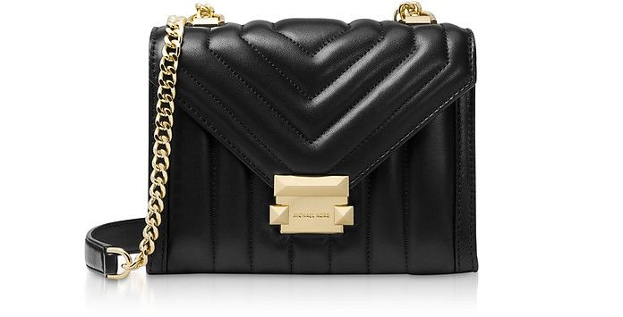 Michael Kors Whitney Small Quilted Leather Convertible Shoulder ...