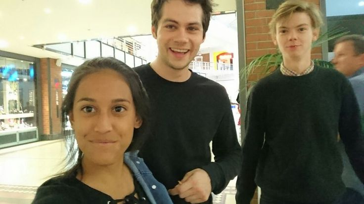 Dylan Dudeicle - obrien-news:    Dylan O'Brien and Thomas Sangster...