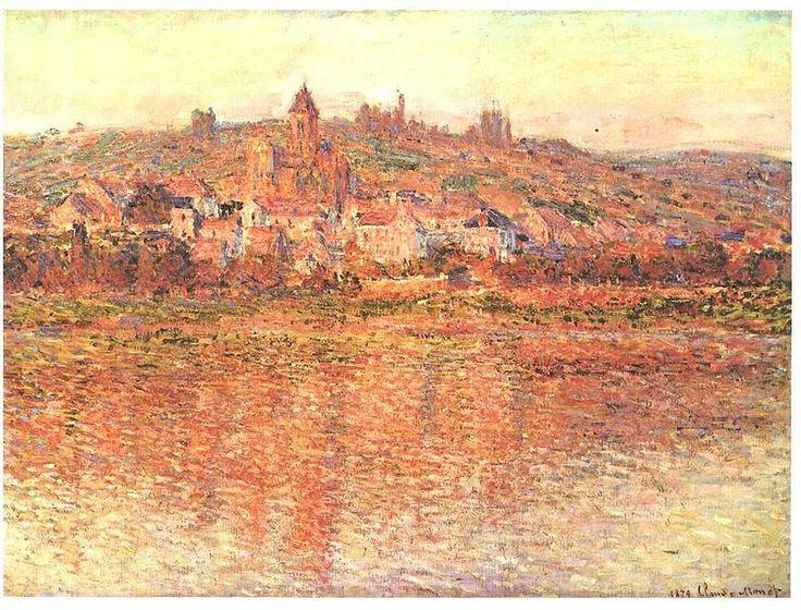 Monet - Vetheuil im Sommer  Vetheuil in Summer