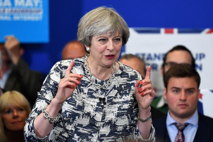 Theresa May looks on course for a definitive victory over Jeremy Corbyn in the general election, as the final poll for The Independent shows her party enjoying a 10-point lead over Labour.