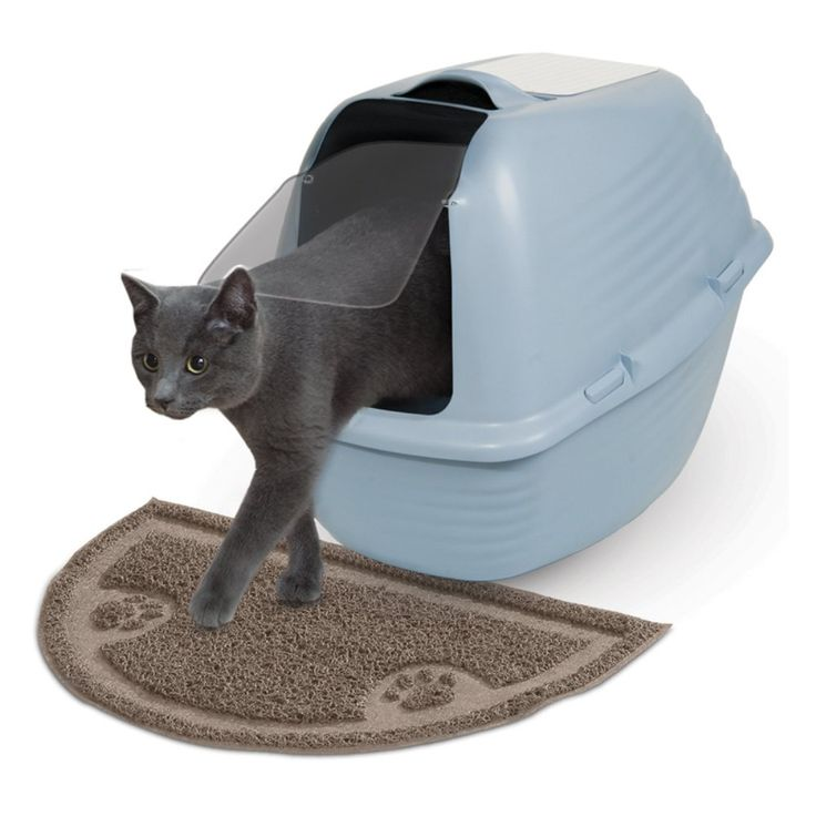 Arm & Hammer 1/2 Circle Litter Mat - You make your family wipe their feet when they come indoors, so why should your cat get a pass when they can clean their feet on the Arm & Hamm...