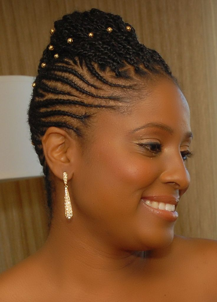 My Natural Hair Wedding Journy Cornrows Natural Hair