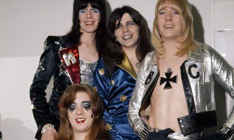 Glam rock band Sweet (sad background story)
