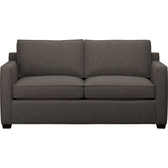 "Davis Full Sleeper Sofa in Sofas | Crate and Barrel | Davis Full Sleeper Sofa 70""Wx36""Dx30""H | $1599.00"