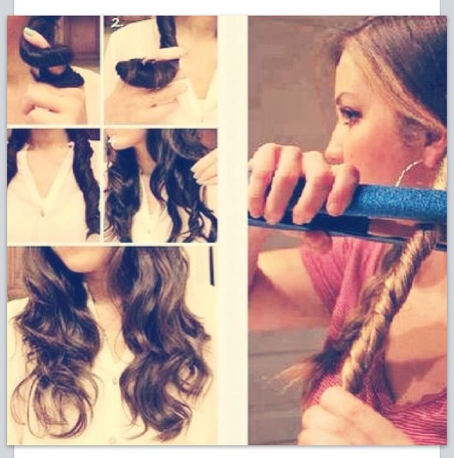 Beach Wave Curls Hair Design Pinterest Beach Waves