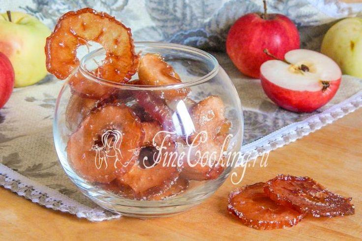 Цукаты из яблок - рецепт с фото